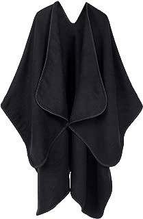 Andorra Women's Vintage Soft Merino Wool Kimono Wrap Cardigan Ruanas w/Tassels
