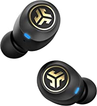JLab Audio JBuds Air Icon True Wireless Signature Bluetooth Earbuds + Charging Case - Black & Gold - IP55 Sweat Resistance - Bluetooth 5.0 Connection - Stereo Phone Calls - 3 EQ Sound Settings