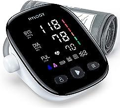 HYLOGY Tensiómetro de Brazo, Monitor de Presión Arterial Digital Automatico con Gran Pantalla Led, Deteccion de Irregular ...