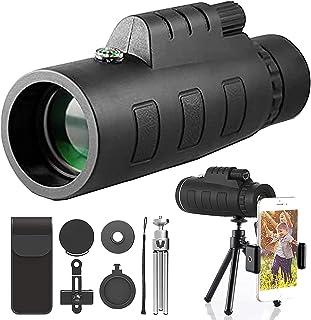 Starscope monoculaire 10x50 Telescoop monoculaire HD, geüpdated zoom starscoop monoculaire 10x50, smartphone-sterren cope ...