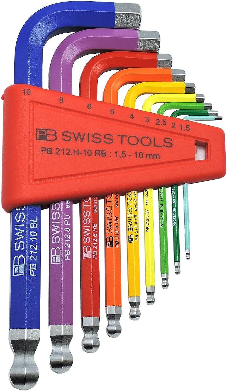 PB Swiss Swiss Swiss Tools RainBow Inbussleutelset B001EQADTM | Charakteristisch  fd9619
