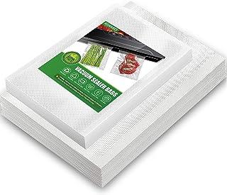 KEAWEO Sac Sous Vide Alimentaire, 100 Pièce Sous Vide Sachets (15x25 50 PCs & 20x25 50 PCs), Cuisson Sous Vide et le Stock...