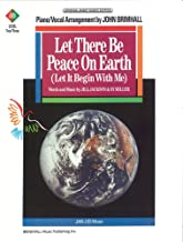 Let There Be Peace on Earth (Let It Begin with Me) Sheet Piano/Vocal/Chords