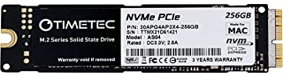 Timetec 256GB MAC SSD NVMe PCIe Gen3x4 3D NAND TLC Internal SSD Compatible with Apple MacBook Air (2013-2015, 2017), MacBo...