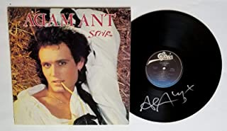 Adam Ant REAL hand SIGNED Strip Vinyl COA The Ants Autographed