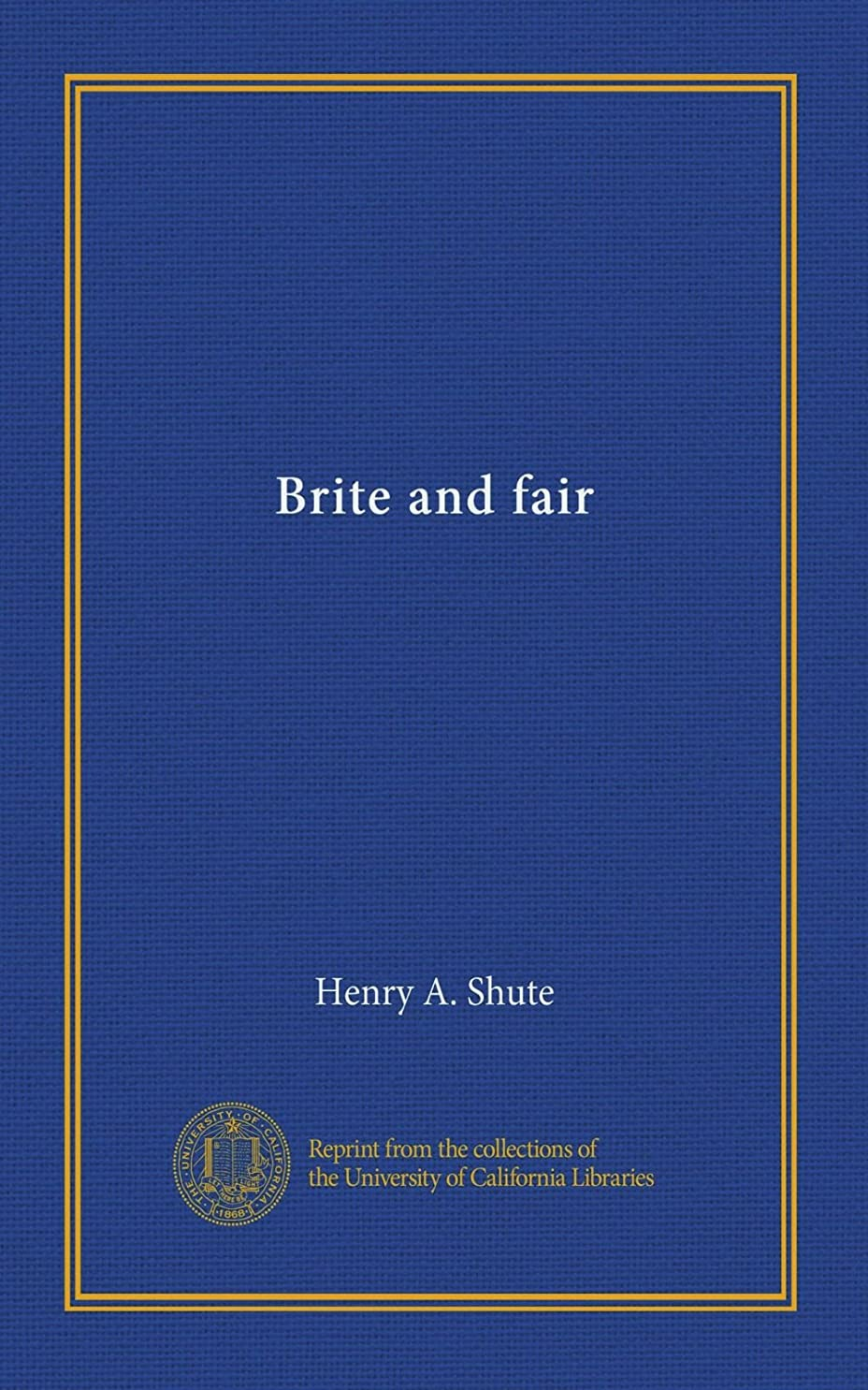 プライバシー小説セメントBrite and fair