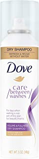 Dove Dry Shampoo for Oily Hair Volume and Fullness for Refreshed Hair 5 oz