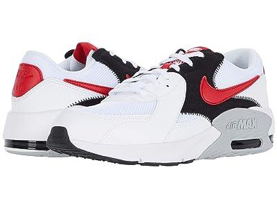 Nike Kids Air Max Excee (Big Kid) (White/University Red/Black/Wolf Grey) Kid