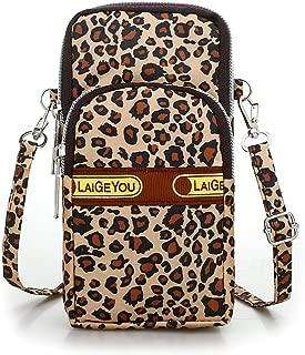 Weep Women Fashion Cute Print Shoulder Bag Adjustable Strap Zipper Closure Smal Shoulder Bags