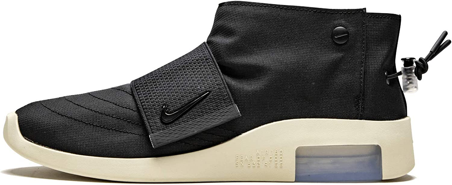 Nike Mens Air Fear of Fabric Black God outlet MOC Fossil New popularity