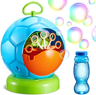 Theefun Bubble Machine, Automatic Bubble Blower with Over 800 Bubbles Per Minute, Durable Bubble Maker for Kids Toddlers B...
