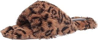 Nine West Women's Cozy Slipper, tan multi287, 8