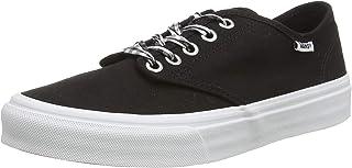 حذاء رياضي دبليو ام كامدين ستريب للنساء من فانس، أسود
