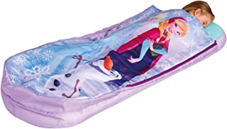 Genuine Frozen! Frozen All In One Sleepover Bed - Airbed and Sleeping Bag In One Nap Mat
