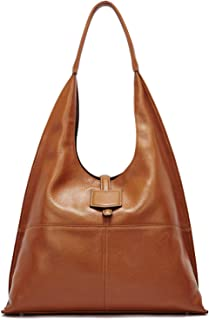 BOSTANTEN Women Hobo Handbag Soft Leather Shoulder Bag Vintage Designer Purses