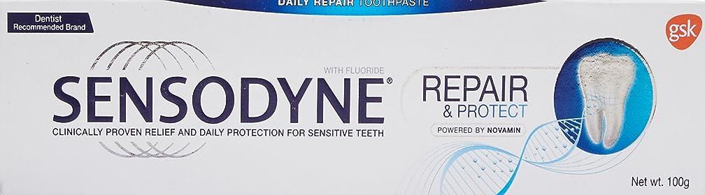 義務づける飲料トーストSensodyne Sensitive Toothpaste Repair & Protect - 100 g センソダイン ホワイトニング リペアー&プロテクト 100g