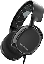 SteelSeries Arctis Over Ear Gaming Headset, blk
