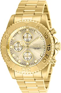 Invicta Women's Connection Quartz Watch with Stainless Steel Strap, Gold, 22 (Model: 28683)