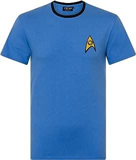 Star Trek Uniform Command Medical Security Costume Men's T-Shirt
