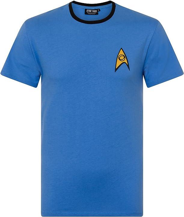 Maglietta star trek engineering uniform t-shirt uomo UTNS4530_9