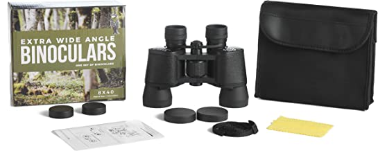 Binoculars for Adults - Extra Wide Field 8 x 40 - Coated Optics - for Bird Watching, Sports, Concerts, Astronomy, Hunting, Hiking, Travel and General Use