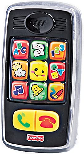 Fisher-Price Laugh and Learn Smilin' Smart Phone (6-36 Months) by Fisher-Price