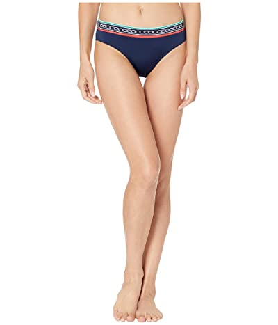 JETS SWIMWEAR AUSTRALIA Riviera Mid Pant Bottoms (Ink/White) Women