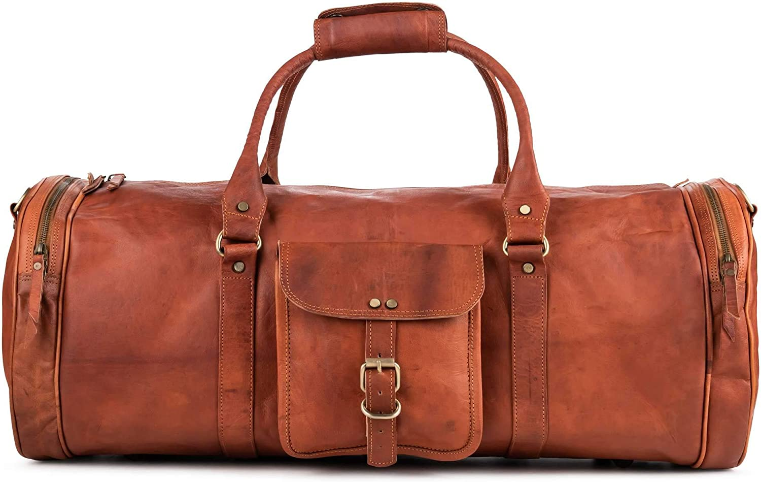 Berliner Bags Vintage Leather Duffle Bag Ranking TOP11 Texas Travel or Purchase XL for