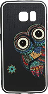 Boter 3D Hard Back Cover With Silicon Edges For Samsung Galaxy S6 Edge - Multi Color