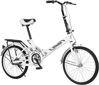 Men//Womens Bike Folding Mini Bike Leisure 20in 7 Speed City Bicycle Urban Comm
