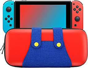 MoKo Carrying Case for Nintendo Switch, Portable Protective Hard Shell Cover Travel Carrying Case Storage Bag with 10 Cart...