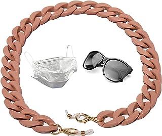 Colgador De Doble Uso para Gafas y Mascarilla   Cuerda Gafas   Cordón sujeta Gafas de Sol modernas   Cadena Cuelga Mascari...