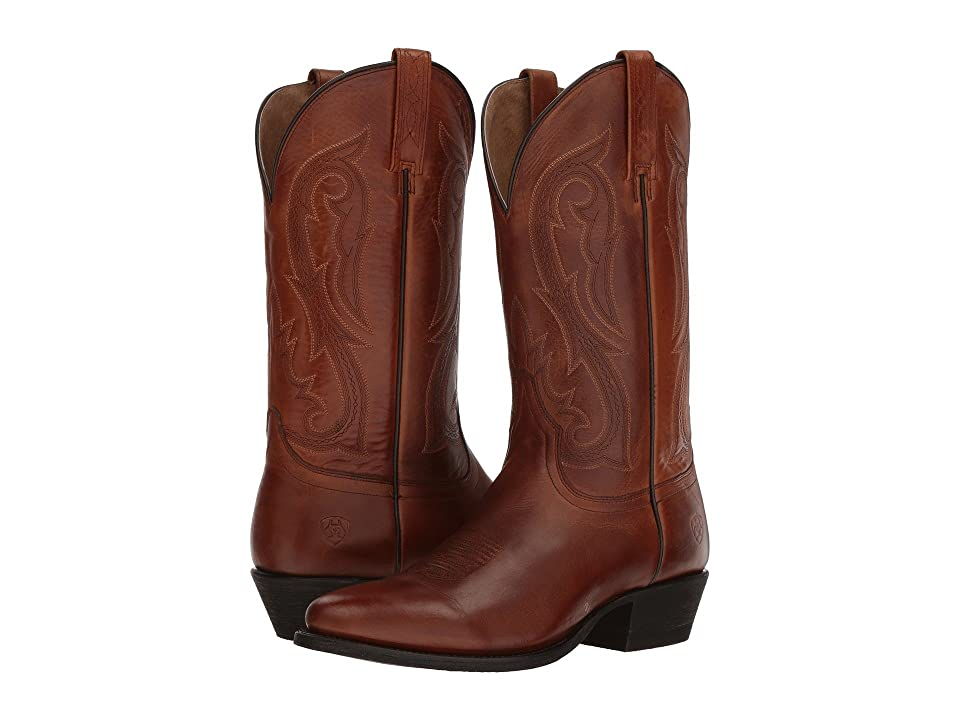 Ariat Circuit Round Toe (Spruced Cognac) Cowboy Boots