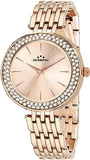 Chronostar R3753272501 Majesty Year Round Analog Quartz Rose Gold Watch