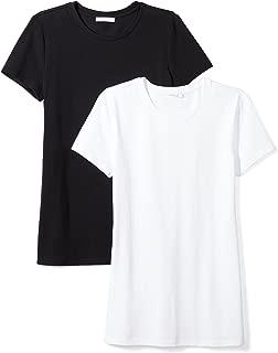 Amazon Brand - Daily Ritual Women's Stretch Supima Short-Sleeve Crew Neck T-Shirt