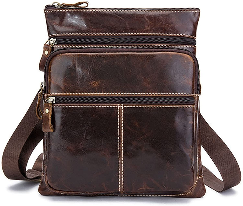 Sucastle Sucastle Sucastle Herren Leder Umhängetasche Schultertasche Kuriertasche Messenger Bag Große Kapazität Vintage Design, 1 B07DPNSN6F 0ba52d