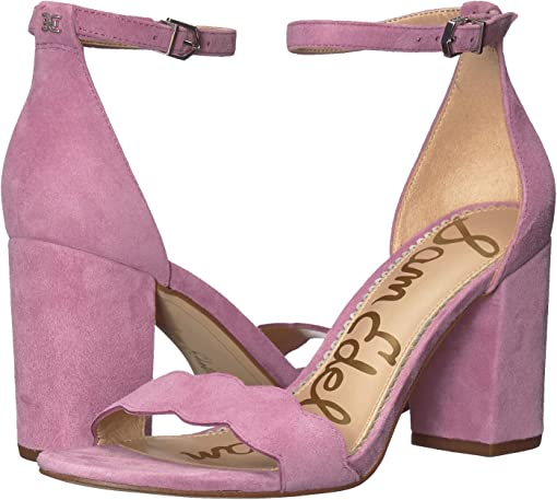 Sweet Lilac Suede Leather