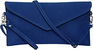 Jieway Women's Faux Suede Evening Clutch Bag Crossbody Bag Shoulder Handbag