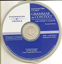 Grammar in Context, Fourth Edition (Instructional Video on DVD)