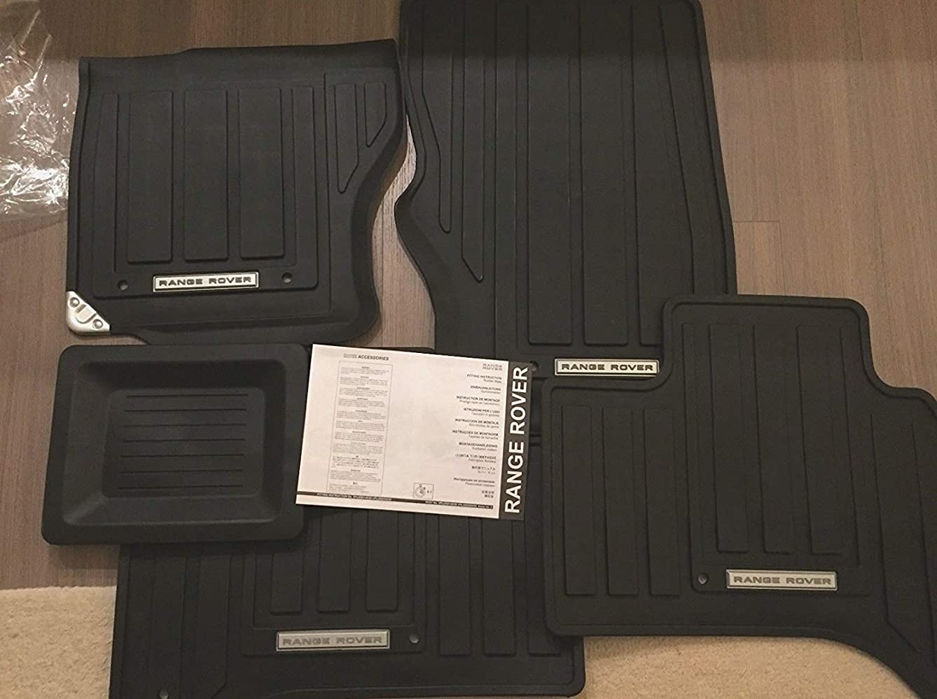 Genuine Land Rover VPLGS0150 Rubber Floor Mats