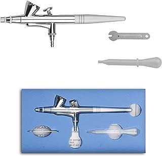 Pinkiou Mini Airbrush Makeup Spary Gun 0.4mm Needle Air Brush For Nail Temporary Tattoo (single gun)