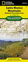 Santa Monica Mountains National Recreation Area (National Geographic Trails Illustrated Map (253))