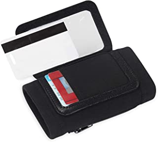 FLEXX ID MONTY: a combination ID badge holder and wallet with 3 card slots including an open display