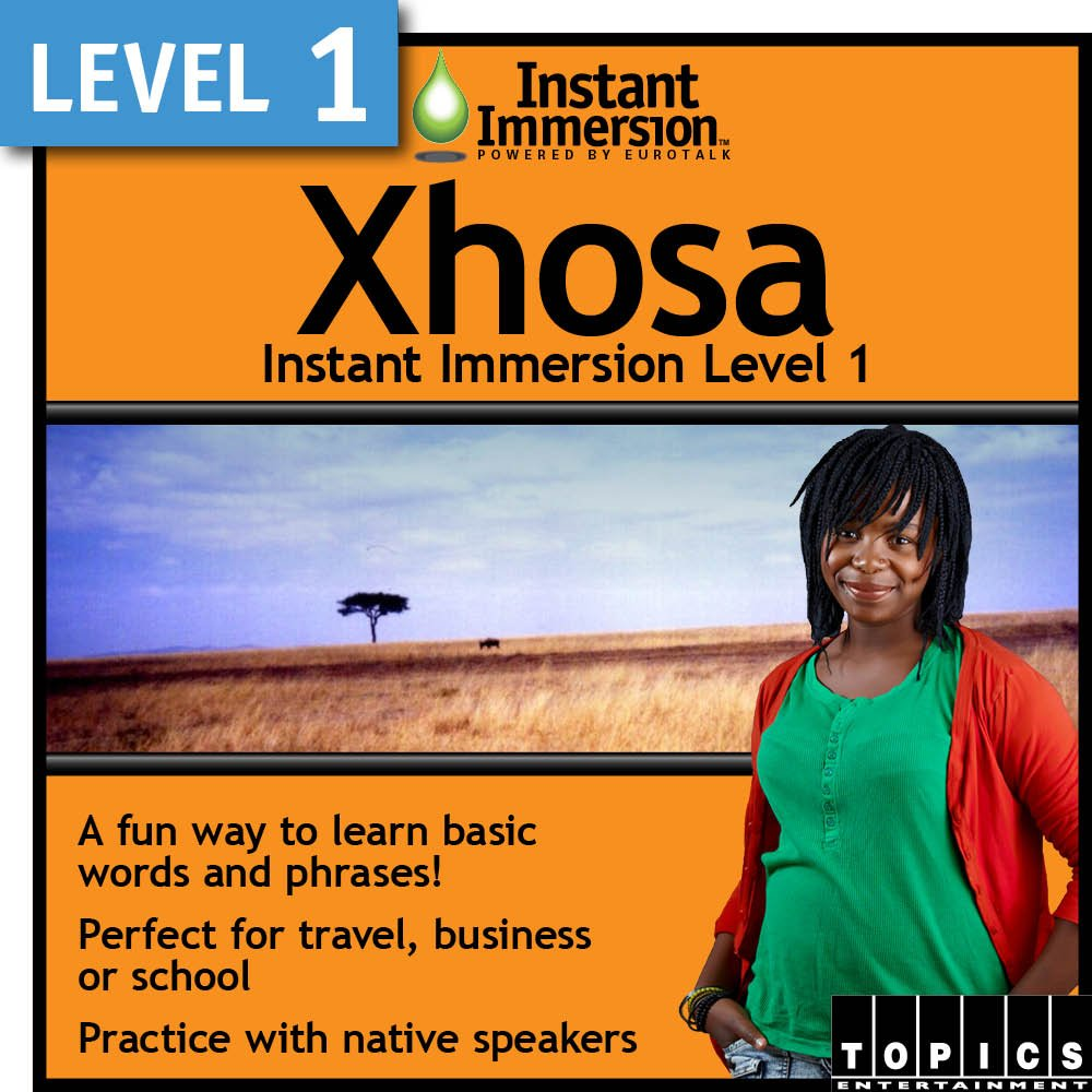 Instant Immersion Level 1 Xhosa Ranking TOP5 - Download Ranking TOP19