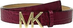 MICHAEL Michael Kors - Croc Logo Belt