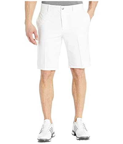 adidas Golf Ultimate365 3-Stripes Competition Shorts (White) Men