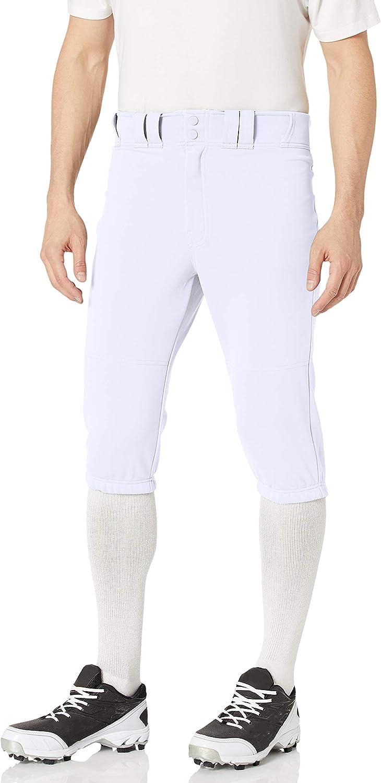 Easton Pro Knicker Adult Men/'s Baseball Pant A167 103 White /& Grey