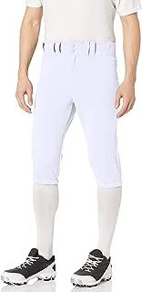 PRO+ Knicker Baseball Pant   2020   Scotchgard Stain Release + Moisture Wicking   7 Belt Loop System   Elastic Cuff Below Knee   Metal Snap Closure + Zipper   100% Polyester Jacquard Fabric
