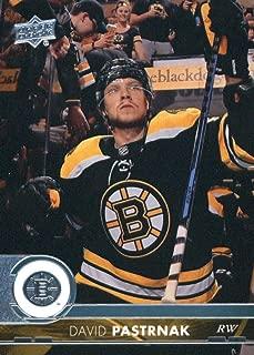 2017-18 Upper Deck Series 2 #265 David Pastrnak Boston Bruins Hockey Card