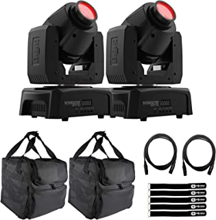 Chauvet DJ Intimidator Spot 110 Lightweight LED Moving Head (2-pack) with Carry Cases Package